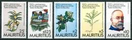 1982 Mauritius Robert Koch Piante Medicinali Medicinal Plants Plantes Médicinales Set MNH** - Mauritius (1968-...)