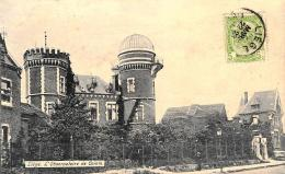 [DC10861] CPA - BELGIO - LIEGE - L'OBSERVATOIRE DE COINTE - Viaggiata - Old Postcard - Liège