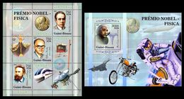 GUINEA BISSAU 2005 - Nobel Prize, Space - YT 2010-2 + BF276 - Non Classés
