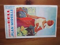 Chewing Gum Bell Et Flan Mireille. 5e Serie. Buvard No. 75 Vendange - Farm