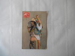 FILLE ARABE 1907  CACHET POSTAL MARSEILLE A LA REUNION LV.N°2 31 MAI 07 - Egypte