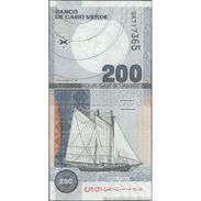 TWN - CAPE VERDE 68a - 200 Escudos 20.1.2005 Prefix QK UNC - Cape Verde