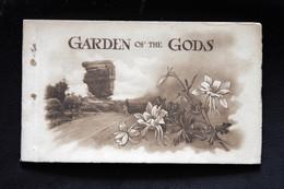 Carnet De 10 Cartes De Garden Of The Gods - Colorado Springs - USA - Hand Colored Peint à La Main - Colorado Springs