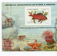 Sao Tome-1979-Poissons-Coraux-...MI B41***MNH - Fishes