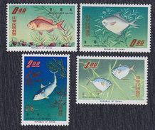 Taiwan 1965 Fish, MNH (**) Michel 576-579 - Ungebraucht