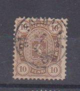 Finlande  / N 15 / 10 P Brun / Oblitéré / Côte 22.5 € - 1856-1917 Russian Government