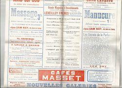 BORDEAUX : CINEMA PATHE : THEATRE DE L INTENDANCE : PROGRAMME DE 1918 - Programmes