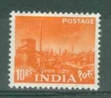 India: 1958/63   Pictorial    SG416     10R     MH - Unused Stamps