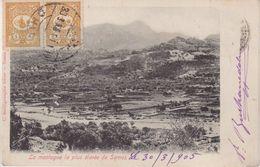 TURQUIE : CP . DE SAMOS . OBL DE CHIO . POUR LA HOLLANDE . 1905 . - Covers & Documents
