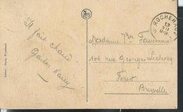 Carte-vue De Frahan   Obl. Rochehaut  Du 13/07/1924 - Postmarks With Stars