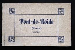(25) Carnet De 10 Cartes Photos Détachables De Pont De Roide - Vues Et Rues De La Ville - Montbéliard