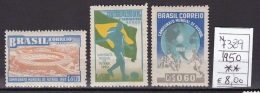 1950 Football World Cup - Brazil 1950 - Francobolli