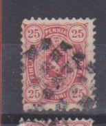Finlande  / N 17a / 25 P Rose / Oblitéré / Côte 18 € - 1856-1917 Russian Government
