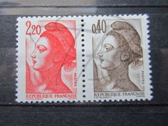 VEND BEAUX TIMBRES DE FRANCE N° 2376b , XX !!! - 1982-90 Liberty Of Gandon