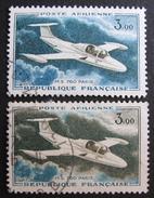 LOT DF/716 - 1960 - POSTE AERIENNE - N°39 + N°39a VARIETE - Airmail