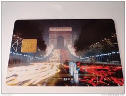RARE :  CARTE ARC DE TRIOMPHE - Francia