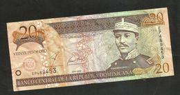 REPUBLICA DOMINICANA - BANCO CENTRAL - 20 PESOS (2002) - Repubblica Dominicana