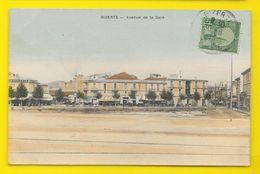 BIZERTE Colorisée Avenue De La Gare () Tunisie - Tunisia