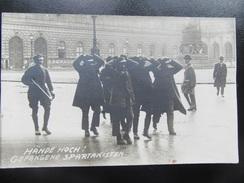 Postkarte Revolution München 1918 1919 - Freikorps / Spartakus - Hoffmann - Residenz - Guerre 1914-18