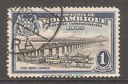 005861 Mozambique Company 1935 1 Escudo FU - Mozambique
