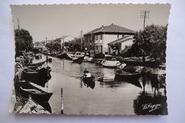 CPA 34 HERAULT PALAVAS LES FLOTS. Le Canal Et Le Pont. - Palavas Les Flots