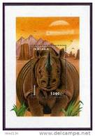 TANZANIA   2042 MINT NEVER HINGED SOUVENIR SHEET OF ANIMALS - Stamps
