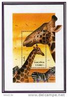 TANZANIA   2041 MINT NEVER HINGED SOUVENIR SHEET OF ANIMALS - Stamps