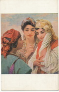 Orientalisme By Girardot Born In Loulans Les Forges 70 Les Amies Lapina Salon 1912 - Afrique