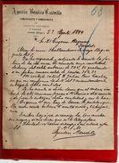 Courrier Espagne Agustin Bemlito Castrillo Commerce Céréale Légumes Y Lanas Haro Rioja 23-08?-1899 - écrit En Espagnol - Espagne