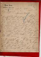 Courrier Espagne Lucas Palou ? Palon ? Viguera 15-10-1899 - écrit En Espagnol - Espagne