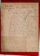 Courrier Espagne Lucas Palou ? Palon ? Malou ? Viguera 4-10-1899 - écrit En Espagnol - Spain