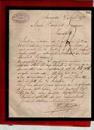 Courrier Espagne Pedro Moya Zaragoza Saragosse 2-04-1892 - écrit En Français - Spain