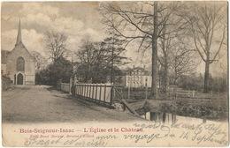 Bois Seigneur Isaac Eglise Et Chateau Edit René Berger Braine L' Alleud Timbrée De Lillois - België