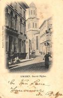[DC10868] CPA - BELGIO - LOKEREN - RUE DE L'EGLISE - Viaggiata 1906 - Old Postcard - Lokeren