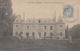 Métiers - Botanique Horticulture - Jardinier - Château De Villers-Allerand 51 - 1906 - Métiers