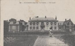 Métiers - Botanique Horticulture - Jardinier - Etinehem - Château - 1915 - Métiers
