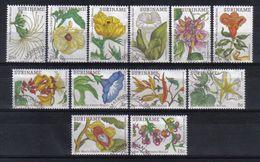 Suriname 1983 Flowers Y.T. 874/885 (0) - Surinam