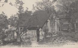 Métiers - Botanique Horticulture - Jardinier - Montmartre - Maison Au Toit De Chaume Dite Henri IV - Métiers