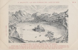 Histoire - Archéologie - Italie - Malfatti - Navire Lac De Nemi - Bâteaux Galigula - Storia