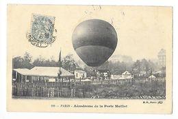PARIS (cpa 75)  Aérodrome De La Porte Maillot - Dirigeable-   - L 1 - Aéroports De Paris