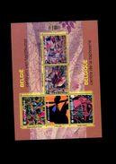 Belgie BL222 2015 Nr 4469/73 Tapisserie Tapestry MNH - Blocs 1962-....