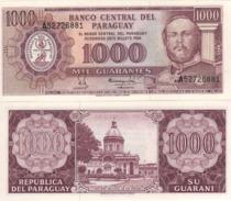 PARAGUAY 1'000 Guaranis  P207a     No Date   UNC - Paraguay
