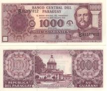 PARAGUAY 1'000 Guaranis  P221a     Dated  2002   UNC - Paraguay