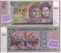 PARAGUAY 2'000 Guaranis  P228c     Dated  2011  POLIMER   UNC - Paraguay