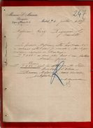Courrier Espagne Banquero Mariano S. Muniesa Espoz Y Mina Madrid 9-07-1899 - écrit En Espagnol - Banque Banquier - Espagne