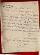 Courrier Espagne Wenceslao Alonso E Hijo Pieles Y Lanas Lerin Navarra 16-07-1897 - écrit En Espagnol - Spain