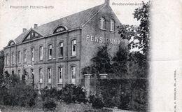 BOUCHOUT LEZ ANVERS _PENSIONNAT PINTELON AERTS _GELOPEN 1902 _ZELDZAAM POSTKAART - Boechout