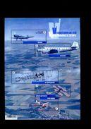 Belgie BL235 2016 Nr 4588/92  Aircraft Airplane Sabca Renard De Brouckere Bataille Tipsy Nipper MNH - Blocs 1962-....