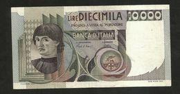 """ITALIA - BANCA D' ITALIA - 10000 Lire """"CASTAGNO"""" - (Decr. 03 / 11 / 1982 - Firme: Ciampi / Stevani) - [ 2] 1946-… : Repubblica"""