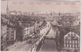 Suisse :   ZURICH  Limmatquai  ( Velma  Suchard) - ZH Zurich